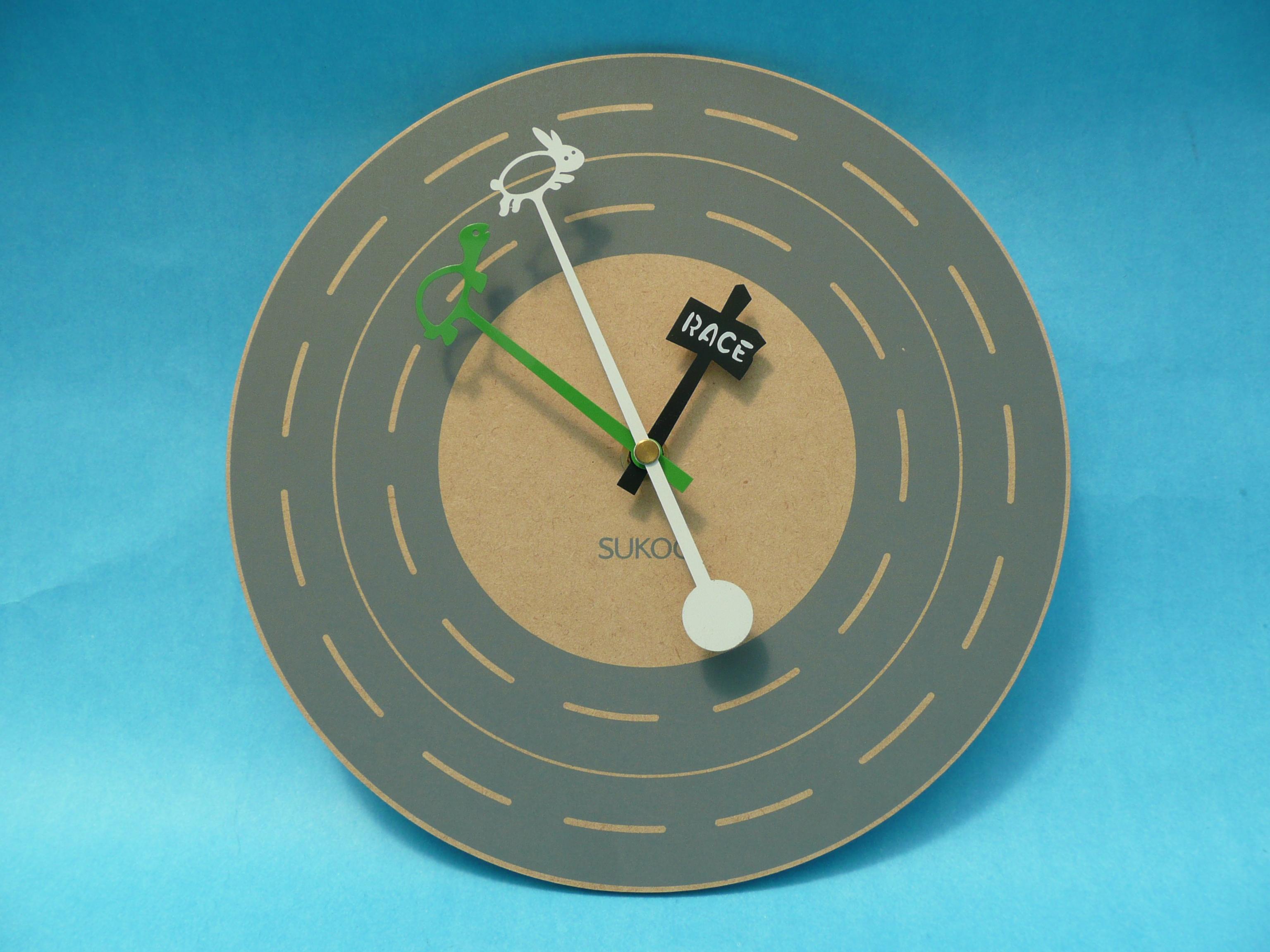 龜兔賽跑時鐘