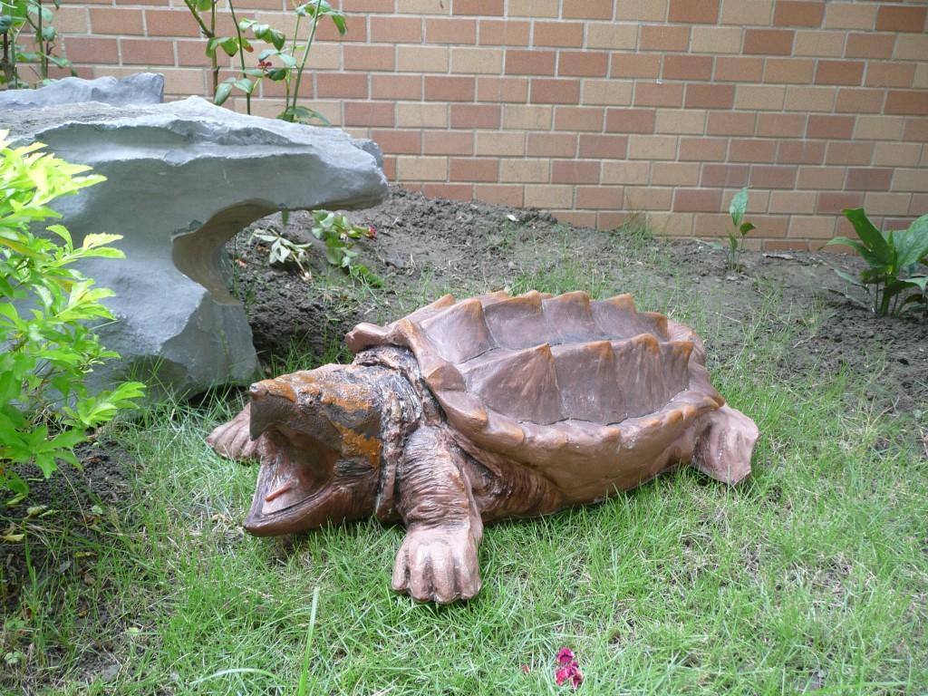 大型鱷龜雕塑模型