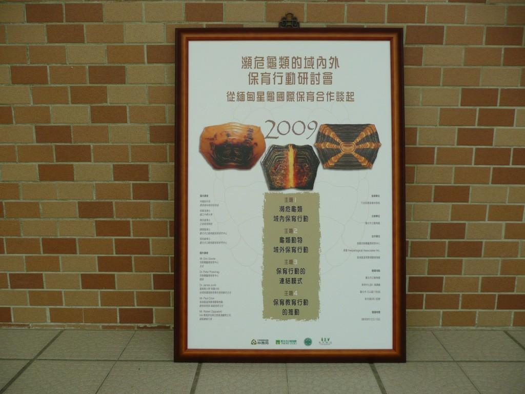 瀕危龜類保育研討會海報