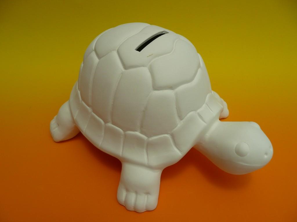 烏龜造型撲滿素坏