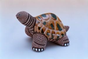 烏龜陶土模型