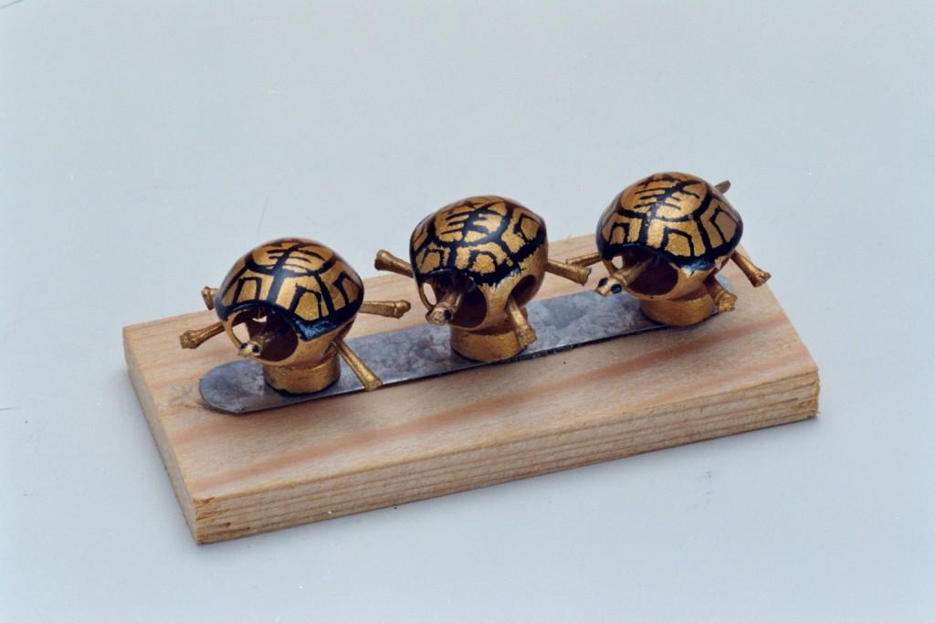 12銅製磁鐵烏龜