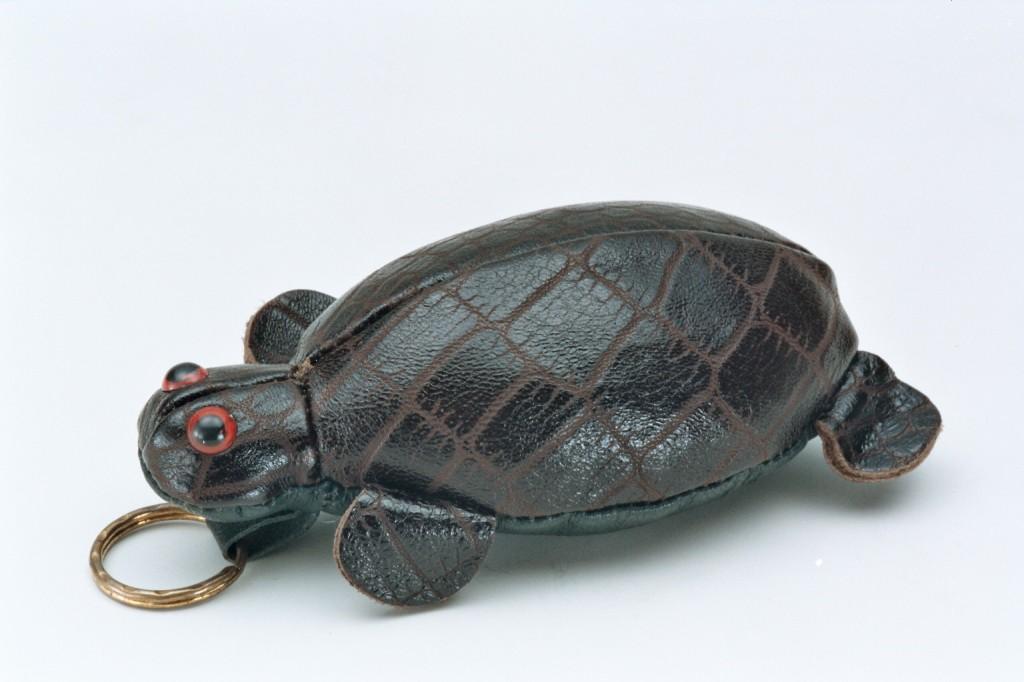 223皮雕烏龜錢包