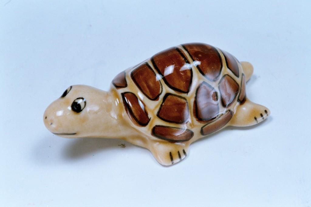 396陶土烏龜