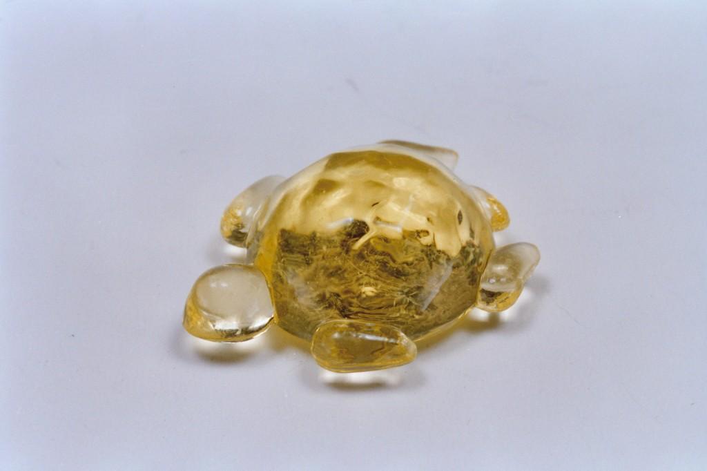 421金色塑膠烏龜