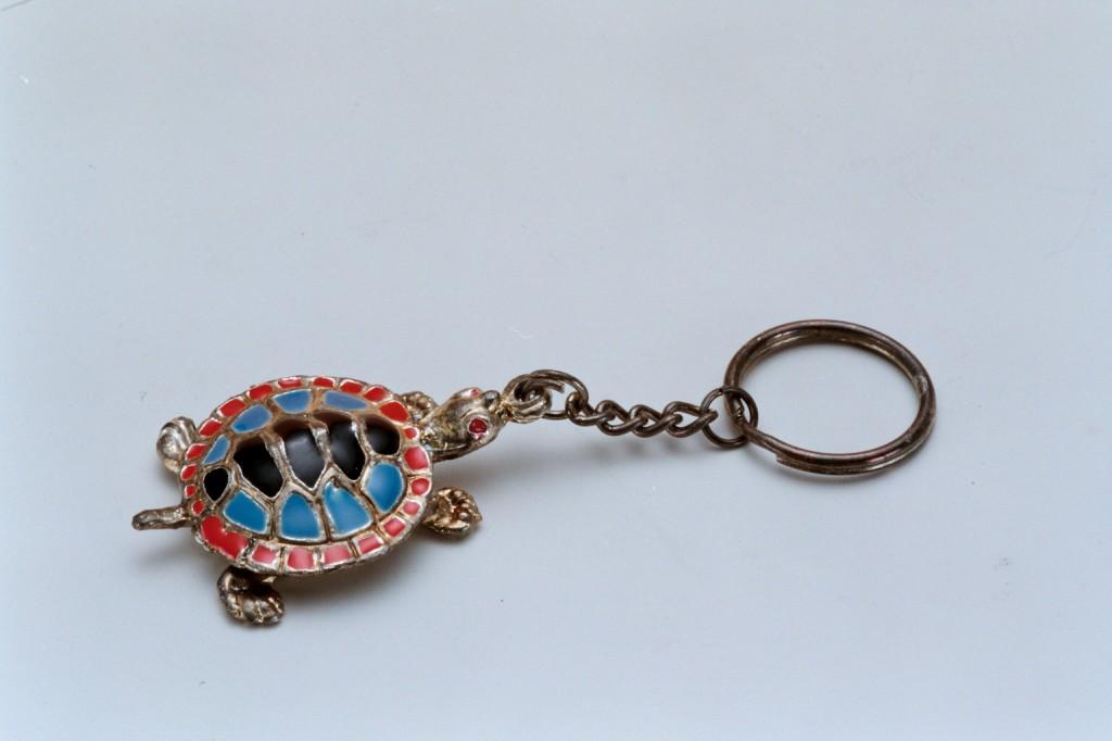 68鍍銀烏龜鑰匙圈
