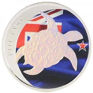 0.5盎司2013限量版彩繪銀幣1