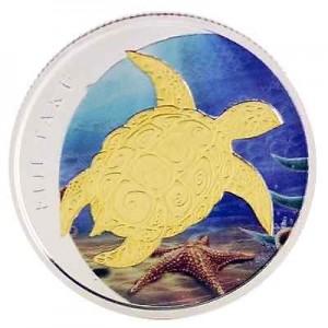 0.5盎司2013限量版彩繪銀幣2