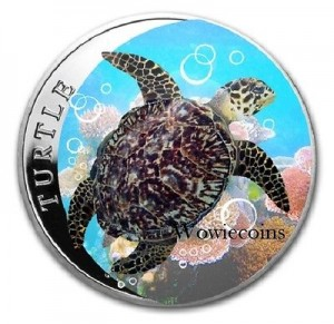 1盎司2014限量版彩繪銀幣