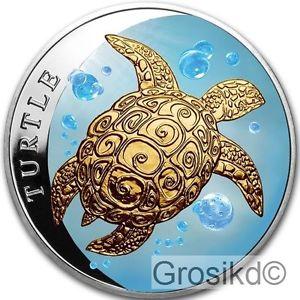 1盎司2015限量版彩繪銀幣