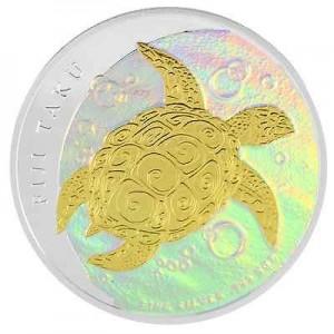 5盎司2013限量版彩繪銀幣